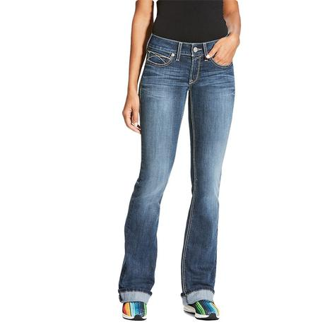 Ariat Real Boot Cut Tulip Gemstone Women's Jeans