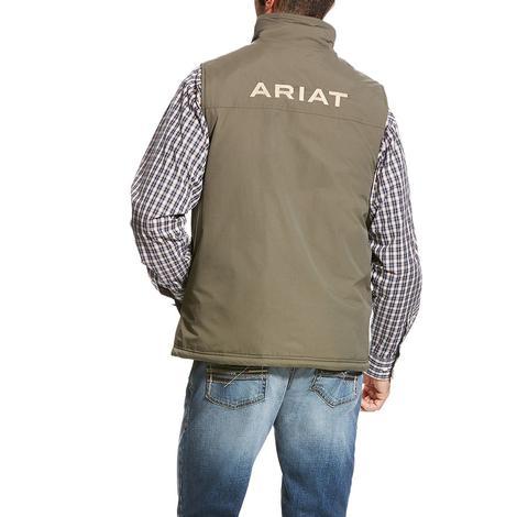 Ariat Mens Team Vest Walnut Concealed Carry Vest