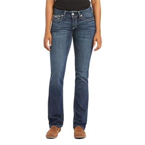 Ariat REAL Straight Leg Dresden Ivy Plus Women's Jeans