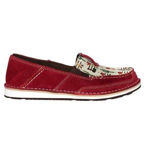 Ariat Womens Cranberry Vintage Cowgirl Cruiser