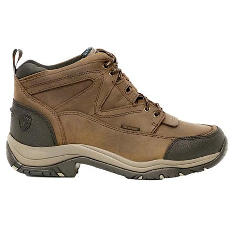 Ariat Mens Terrain H2O Distressed Brown Shoe