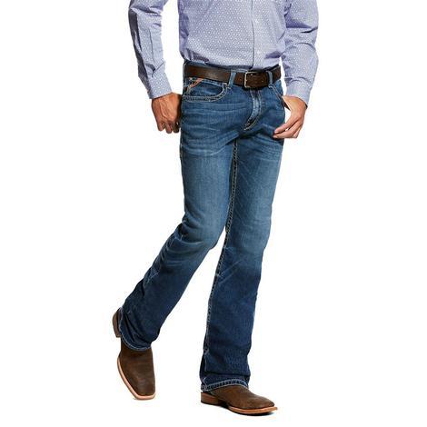 Ariat M4 Braden Pasadena Wash Low Rise Boot Cut Men's Jeans