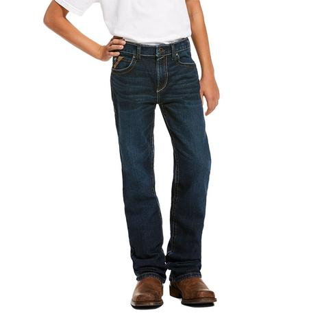 Ariat B4 Relaxed Chief Wash Bootcut Boy's Jeans