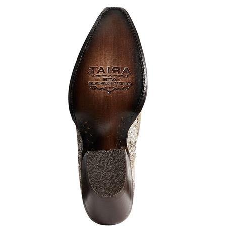 Ariat Dixie Metallic Snake Women's Shortie Boots