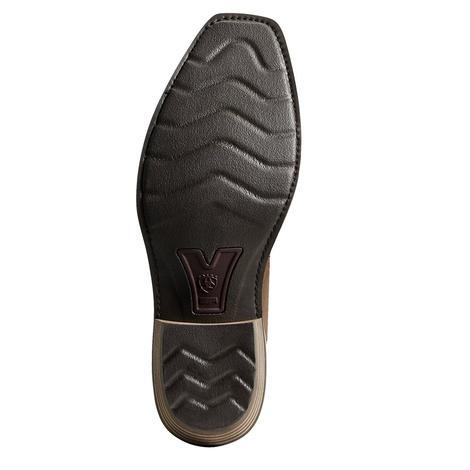 Ariat Heritage Buckaroo Brown Creme Men's Boots