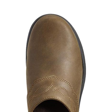 Ariat Brown Bomber Women's Mule Shoe