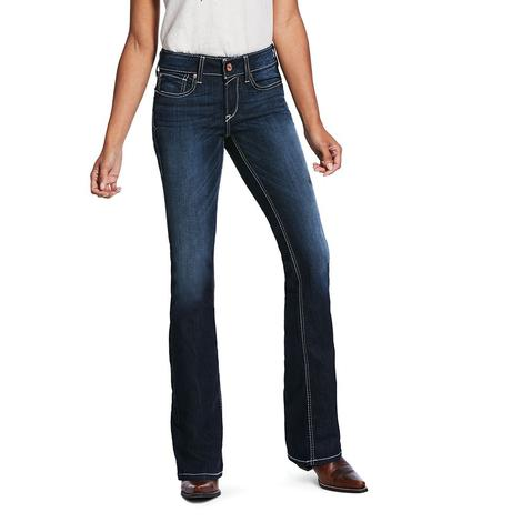 Ariat R.E.A.L. Ella Satin Stitch Boot Cut Jeans
