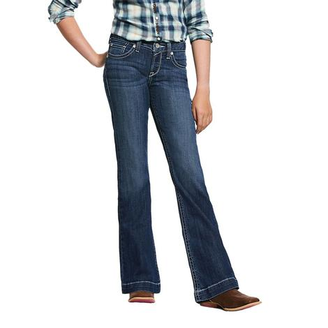 Ariat REAL Heirloom Girl's Trouser Jeans