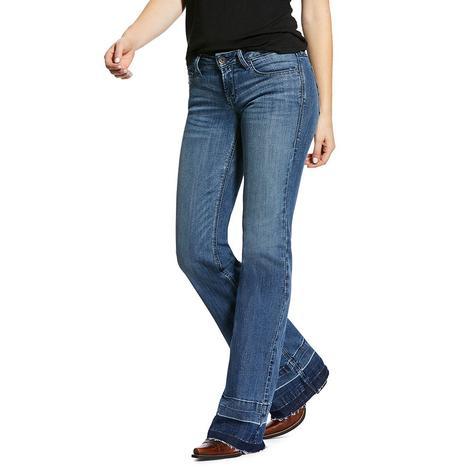 Ariat Whitney Light Wash Women's Trouser Jeans