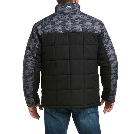 Ariat Colorbock Crius Insulated Black DigiCam Men's Jacket
