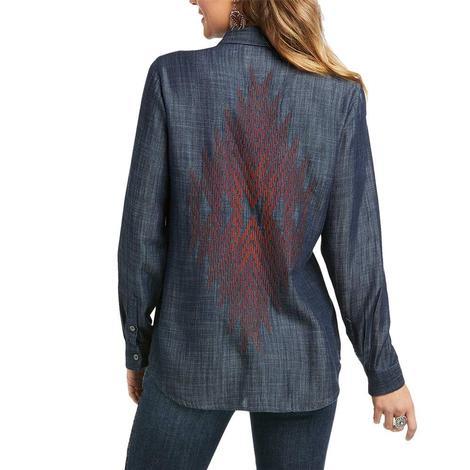 Ariat Parker Denim Tencel Long Sleeve Buttondown Women's Shirt