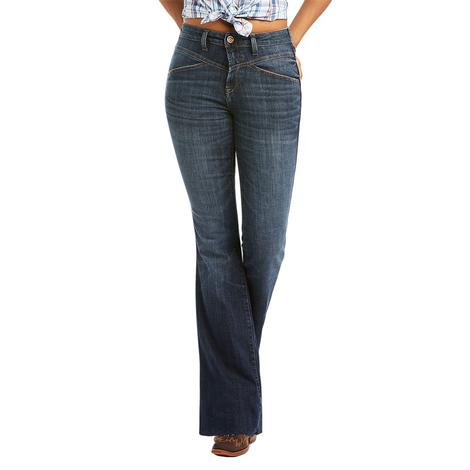 Ariat REAL High Rise Brynlee Flare Women's Jeans