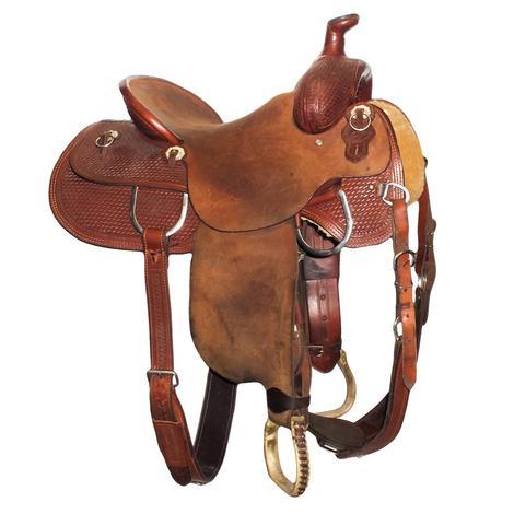 Bison Ranch 15in Ranch Roper Used Saddle