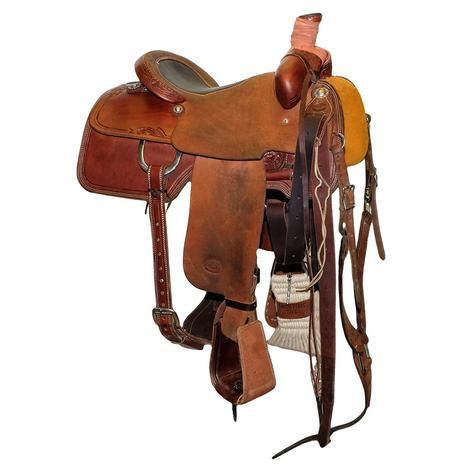 STT Team Roping 14.5 inch Used Bullhide Saddle