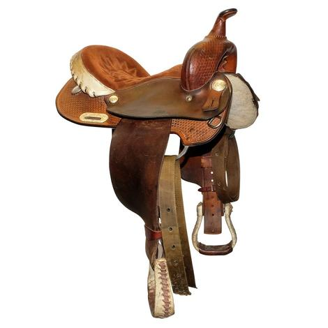 Courts Used Barrel Saddle 14""
