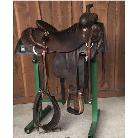 "Trent Ward 16"" Ranch Roper Used Saddle"