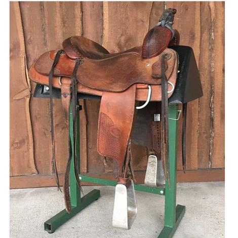 "Tom Bouquet 16.25"" Used Ranch Cutter Saddle"