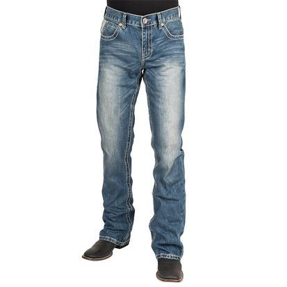 Stetson Mens Western Denim Jeans