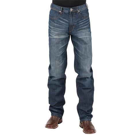 Stetson Mens 1520 Mid Rise Relaxed Jeans