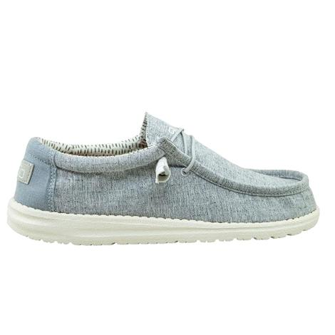 Hey Dude Wally Chambray Blue Men's Shoes
