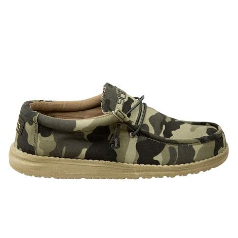 Hey Dudes Wally Camo Men's Shoe
