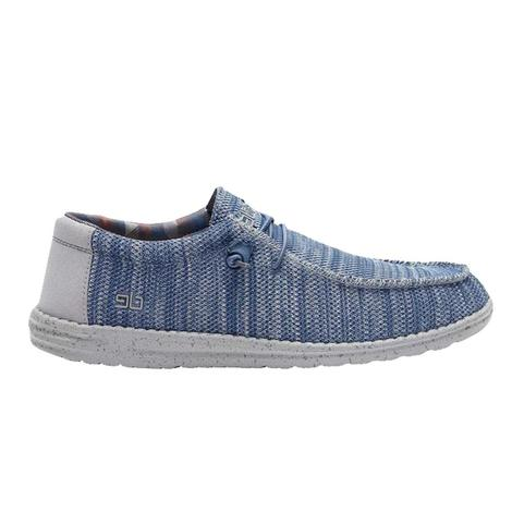 Hey Dude Wally Sox Steel Blue Grey