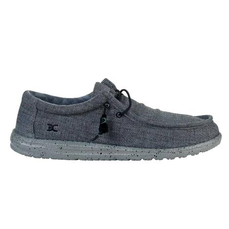Hey Dude Wally Stretch Steel Men's Shoes