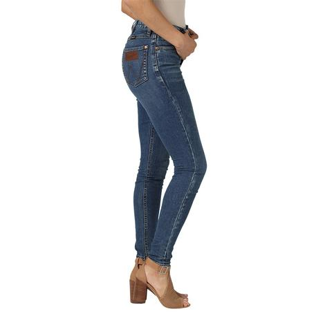 Wrangler High Retro Skinny Jeans