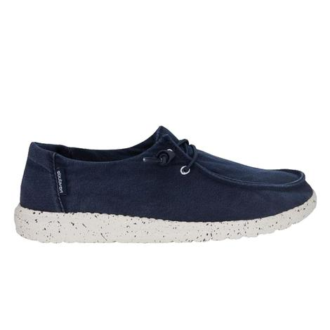 Hey Dude Wendy Navy Lace Up Women's Shoes