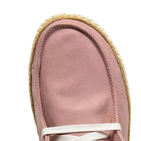 Hey Dude Wendy Python Pink Women's Shoes
