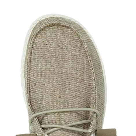 Hey Dude Wendy Chambray Sage Women's Shoes