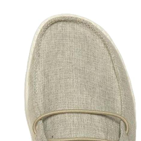 Hey Dude Wendy Linen Iron Slip On Women's Shoes