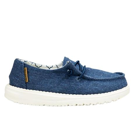 Hey Dude Wendy Youth Sparkling Denim Shoe