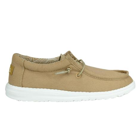 Hey Dudes Wally Tan Youth Shoe