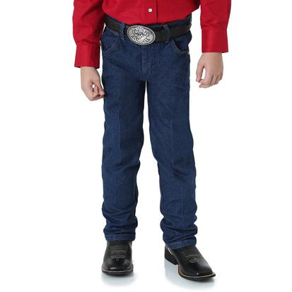 Wrangler Boys George Strait Original Cowboy Cut Jeans - Dark Wash