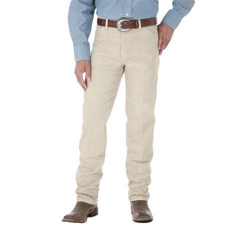 Wrangler Cowboy Cut Tan Original Fit Men's Jeans