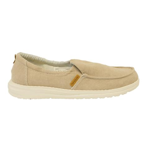 Hey Dude Misty Champbray Beige Women's Shoes