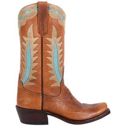 Rios of Mercedes Goat Tag Palm Leaf Inlay Ladies Boots