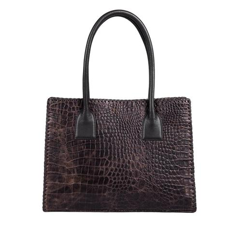 Juan Antonio Axis Crocodile Tote Bag