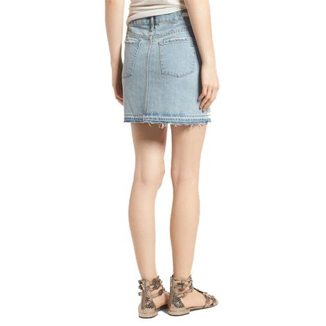 Articles of Society Stacy Denim Mini Skirt