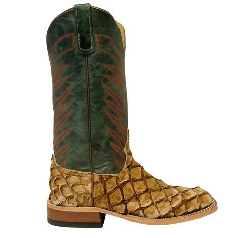 Anderson Bean Antique Saddle Big Bass Turquoise Explosion Men's Boots
