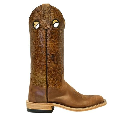 STT Anderson Bean Chili Double Face Tooled Women's Boots