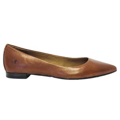 Frye Womens Sienna Ballet Saddle Slip-on