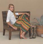 Silverado Womens De Colores Serape Skirt