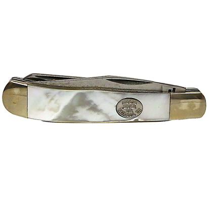 Double Blade Pocket Knife Mother of Pearl 3 Inches
