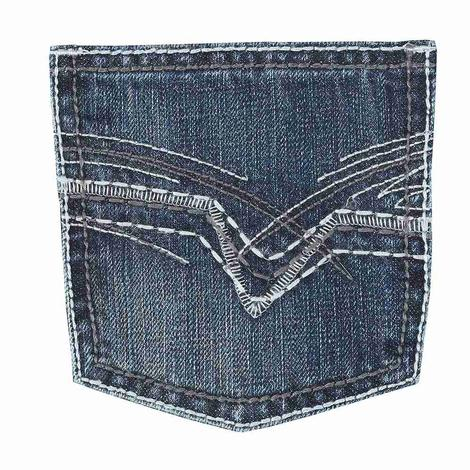 Wrangler 20X No. 42 Vintage Bootcut Canyon Lake Wash Boy's Jeans - Size 4-7