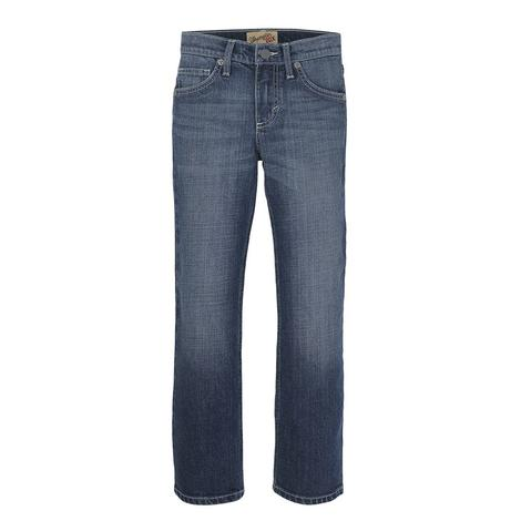 Wrangler 20X No. 44 Slim Straight Lipan Wash Boy's Jeans - Size 8-16