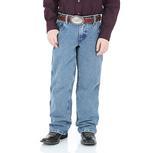 Wrangler Boys Advanced Comfort Stone Bleach Jeans