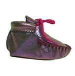 Itasca Infant Toddler Wapsi Moccasin Prism Purple