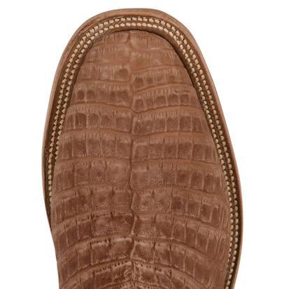 Rios of Mercedes Mens Tan Caiman Belly Melon Make Up Boots